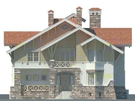 Проекты фасадов домов с использованием искусственного...4... - Фасады...